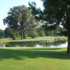 A view of a hole with water coming into play from The Links at Overton Park