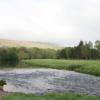 A view over the water from the 4th tee at Ilkley Golf Club