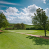 A sunny day view of a green at Sitwell Park Golf Club