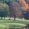 A view of a tee at Roanoke Country Club
