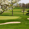 A spring day view from Nemacolin Country Club