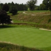 A view of a green at New Castle Country Club