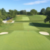 A view of hole #9 at St. Martin's Golf Course from Philadelphia Cricket Club (Evan Schiller)