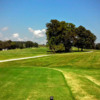 A view from the 1st tee at Indian Tree Golf Course
