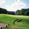 A view of a hole at Northampton Valley Country Club