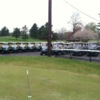 A view of the cart fleet at Beckett Golf Club