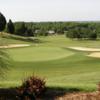 A view of a green at Wicomico Shores Golf Course