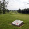 A view from the 18th tee sign at Winchester Country Club