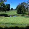 A view of a green at Philmont Country Club