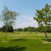 A view of a green at Radyr Golf Club