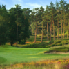 A view of a hole at Sunningdale Golf Club