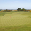 A view of a green at The Royal Dublin Golf Club