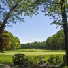 A view of a hole at Foxborough Country Club