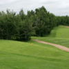 A view from tee #7 at Hazelwood from Innisfail Golf Club