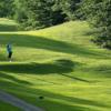 A view of a tee at Killington Golf Resort
