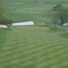 A view of a green at River Valley Country Club
