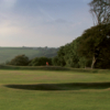 A view of a green at Hoburne Doublebois Golf Centre
