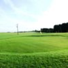 A view of a green at Bleadon Hill Golf Course