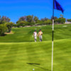 A view of a hole at Ventanas de San Miguel Golf & Resort