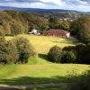 A sunny day view of a fairway at Pontnewydd Golf Club