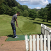 A view from a tee at Castell Coch Golf Club (Swingchipandputt)