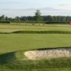A view of a hole at York Golf Range