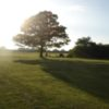 A sunny day view from York Golf Range