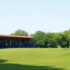 A view of the practice area at York Golf Range