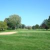 A view of a green at Butte des Morts Golf Club