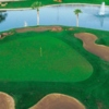 Aerial view of the 18th hole from Scottsdale Silverado Golf Club