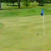A view of a hole at Owosso Country Club