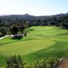 A view of green #12 at Mt. Woodson Golf Club