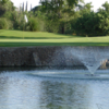 A view over the water of a hole at El Paso Country Club