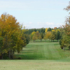 A fall day view from Sheboygan Town & Country Golf Club