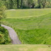 A view from a tee at Country Club of Terre Haute