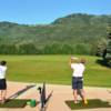 A view from the driving range tees at Park City Golf Course