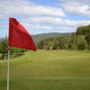 A view from a green at Rothes Golf Club