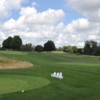 A view of a tee at Patterson Club