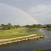 The rainbow protecting Monarch Country Club