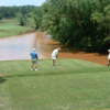 A view from tee #7 at Musgrove Mill Golf Club