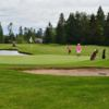 A view of a hole with water coming into play at Semiahmoo Golf & Country Club