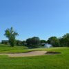 A sunny day view from Glendale Golf and Country Club
