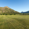 A view from the 4th fairway at Waterton Lakes Golf Course
