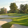 A view of green #9 at Cataraqui Golf and Country Club