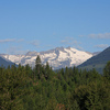 Kokanee Springs: the glacier seen from #4