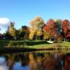 A fall day view from Kawartha Golf and Country Club