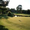 A view of a green with water coming into play at Peterborough Golf & Country Club