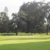 A sunny day view from San Andres Golf Club