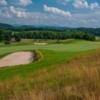 A view of fairway #3 at The Olde Farm Golf Club