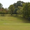 A view of a tee at Clarksville Country Club